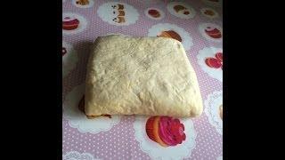 Слоеное дрожжевое тесто