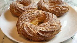 Заварные Кольца с Творожным Кремом (Очень Вкусно) / Заварные Пирожные / Пошаговый Рецепт
