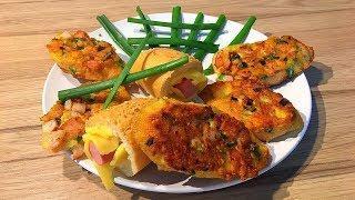 Простые и Вкусные Закуски  Праздничные  Рецепты Бутербродов