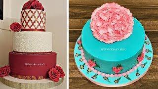 Торты капкейки десерты удивительные идеи украшения оформления