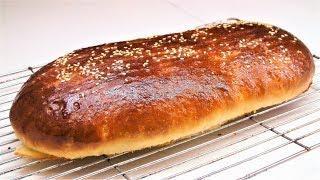 Как приготовить xлеб на молоке. Азербайджанская кухня.  How to chop paste on milk.  Milk bread.