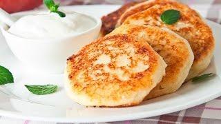 Сырники.Сырники из Творога * Как Сделать Вкусные Сырники