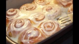 Синнабоны/булочки с корицей/Cinnamon Rolls/ Zimtschnecken