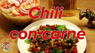 Chili con Carne (говядина). Мексиканская кухня. Просто, вкусно, недорого.