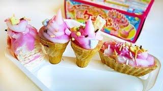 Японская еда. Мороженое и пирожное из порошка ~ Вкусняшки ~