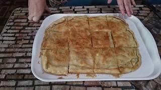 .Баница  быстрого приготовления(Болгарская кухня)