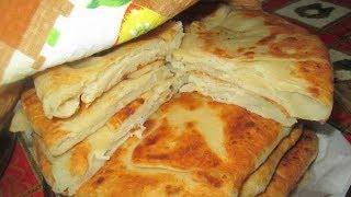 Плацинда молдавская - вкусные и ароматные лепешки с картошкой