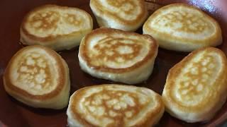 Пышные Оладьи на Кефире из Овсяных Хлопьев и Муки, как Пух-едим и не полнеем/Oatmeal Pancakes