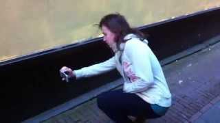 МЫШИ на улице в Амстердаме Голландии / Amsterdam mouse in the Netherlands