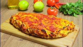 Кальцоне. Закрытая пицца. Итальянская кухня. Видео рецепт от Всегда Вкусно!