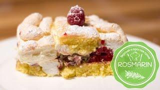 Настоящий венский торт-пирожное Кардинал
