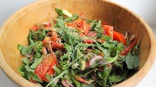 Салат с рукколой и авокадо, как приготовить вкусно?