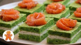 Закусочные Пирожные Новогодний Рецепт