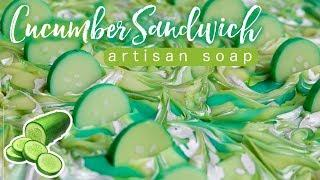 The Earl Makes : Cucumber Sandwich Soap | Royalty Soaps