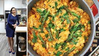 Плов Кашови с Нутом и Курицей - Армянская Кухня - Рецепт от Эгине - Heghineh Cooking Show