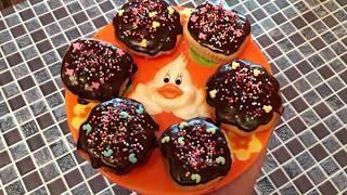 Пасхальные кексы | Творожные кексы