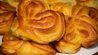 5 СПОСОБОВ формирования сахарных БУЛОЧЕК из дрожжевого теста. Смотрите РЕЦЕПТ приготовления булочек