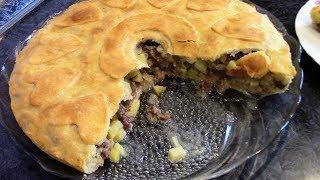 Восхитительно вкусный пирог Кубете, перед которым не устоит ни один мужчина.