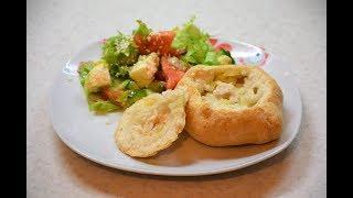 Простой рецепт сочных элешей с курицей! Татарская кухня.