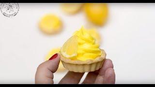 Самый простой рецепт лимонного крема для торта, пирога, тартов и пирожных