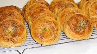 Шоргогал. Азербайджанская кухня. Как приготовить вкусные Шоргогалы.  Хрустящие и нежные.