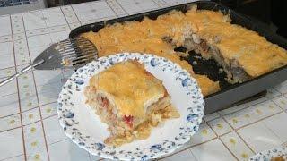 Итальянская кухня или Лазанья по Русски,