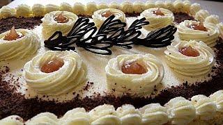 КРЕМ НА МАНКЕ С МАСЛОМ для тортов, рулетов  и пирожных.