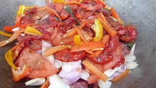Хашлама/В казане/С говядиной/Армянская кухня