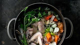 Куриный бульон - рецепт от Гордона Рамзи