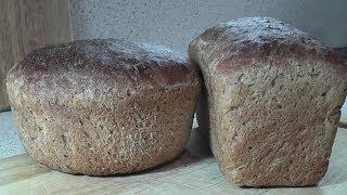 РЕЦЕПТ РЖАНОГО ХЛЕБА Домашний хлеб в духовке