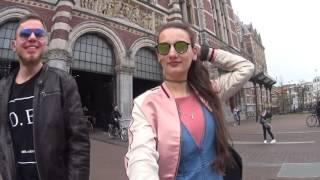 Vlog 2: неизведанная европа - Нидерланды  Голандия, Амстердам, Гаага - швеннинген, море,  Ляйден
