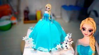 "3д Торт ""Эльза"" / 3D Cake ""Elsa"" - Я - ТОРТодел!"