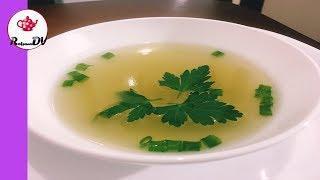 Бульон из утки для приготовления супов и соусов.