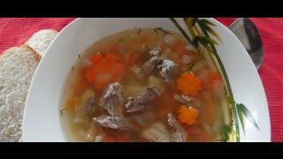 Суп на говяжьем бульоне с картофелем - как приготовить