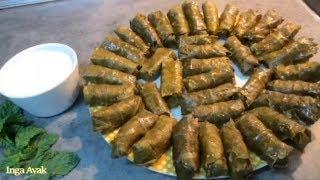 Армянская кухня:ТОЛМА с виноградными листьями