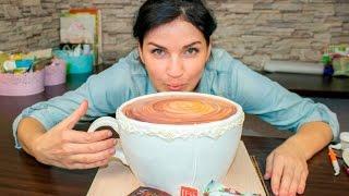 """3д торт """"Чашка чая"""" / 3D cake """"Cup of tea"""" - Я - ТОРТодел!"""