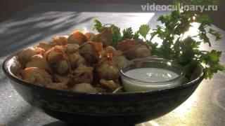 Узбекские жареные пельмени - Рецепт Бабушки Эммы