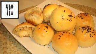 Пирожки с капустой в духовке. Как замесить дрожжевое тесто. Рецепт теста и пирожков/Lahanali corek