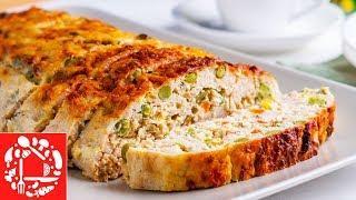Такой РУЛЕТ Вам Точно Понравится! Праздничный Мясной РУЛЕТ из курицы с овощами. Меню на Пасху 2019