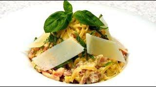 Паста КАРБОНАРА за 15 минут Рецепт!!! Итальянская кухня. HD