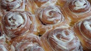 Булочки с корицей (Синнабон). Самые вкусные булочки с корицей.