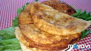 Чебуреки на заварном тесте, пупырчатые нежные. Крымско-татарская кухня #вкусняшки #выпечка #чебуреки