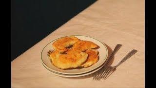 Ушки с грибами. Белорусская кухня