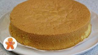 Обычный Классический Бисквит ✧ Школа Домашнего Кондитера ✧ Classic Sponge Cake (English Subtitles)