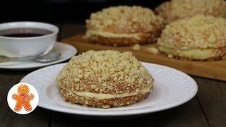 Булочки с заварным кремом очень мягкие и вкусные ✧ Homemade Creamy Buns (English Subtitles)