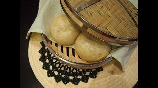 Корейская кухня: Паровые пирожки Пигоди (Пян Се)
