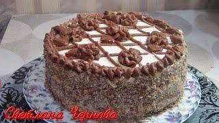 """Домашний торт """" Праздничный""""-очень вкусный /Home cake"""