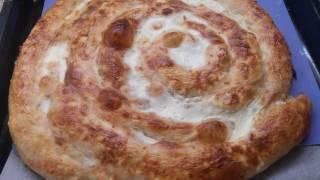 БАНИЦА болгарская с домашним тестом!Bulgarian Banica with a home dough!