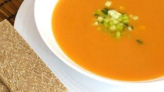 Холодный томатный суп Гаспачо  – испанская кухня