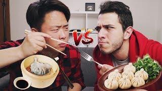 КОРЕЙСКАЯ Еда vs ГРУЗИНСКАЯ Еда w/ Irakli G